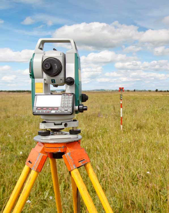 boundary services land surveying